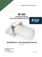 Manual Hb Mi400 e