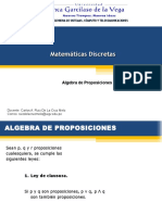 Clase 2 Algebra de Proposiciones