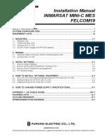Furuno Felcom 19 Installation Manual
