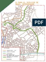 Ruta Alterna Del Trnsporte Urbano Interurbano 2 - 2017 PUNO
