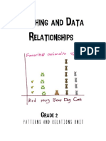 patterns and relations- graphing unit plan sample