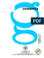 Revista GEOMINAS Numero 61 Ago 2013 s