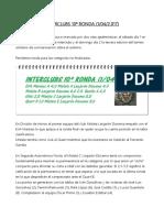 Crónica de la décima ronda y del torneo ASPAU por Luis Palomo
