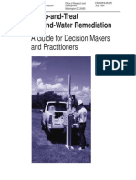 Introduction to Pump & Treat Remediation
