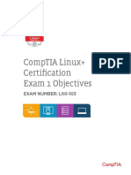 Comptia Linux Powered by Lpi (Lx0 103) Aug 39 14 Version