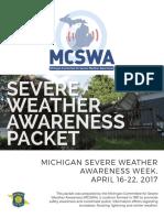 Michigan Severe Weather Awareness Packet April 2017