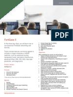 FortiGate II Course Description-Online