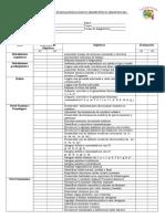Plan Fonoaudiológico Individual