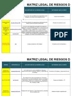 Matriz Legal Construcción Página ARL