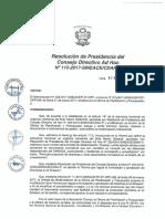Resolución N°115-2017-SINEACE-CDAH-P