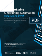 Email Marketing and Marketing Automation Excellence 2017