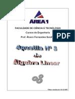 Algebra Linear Apostila 3a