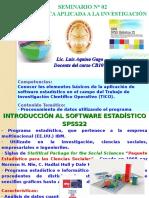 Seminario 02 - Estadistica e Investigacion II