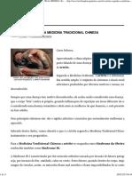 Artrite Segundo a MTC