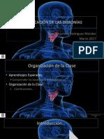 04. t. Clasificación de Las Disfonías