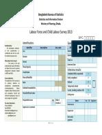 BGD 2013 LFS Questionnaire