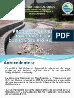 Programa de Gestion Integral Huatanay (Mesa Coordinadora)