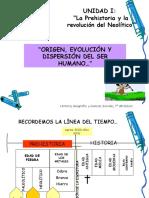Copia de origen evolucion y dispersión del ser humano, 7°, 2012