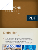 sindrome uremico