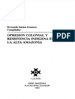 Efectos de Las Reducciones Jesuíticas en Las Poblaciones Indígenas en las poblaciones indígenas de MAynas y Mojos