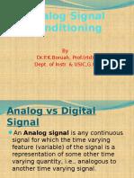 Analog Signal Conditioning(1)