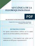 Charla Fluoroquinolonas