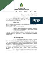 Resolução CEE 194/ 2005