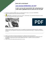 Minitractor John Deere D130 - Mantenimiento Cortacesped
