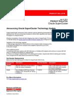 SuperCluster Update Bulletin July2014