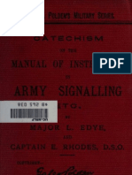 (1889) Catechism on the Manual of Instruction on Army Signalling
