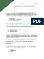 Performance Test Tools Comparison | Application Programming