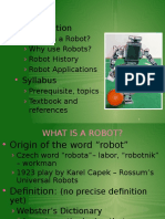 Robotics Introduction