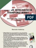 Test de Inteligencia Stanford Binet