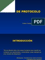 Curso de Protocolo Avanzado
