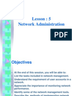 Network Chapter5 - Administration