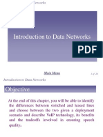 Network Chapter6 - Introduction to Data Network