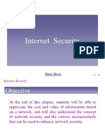 Network Chapter7 - Internet Security