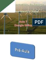 Aula 07 - Ter-Qua - Energia Eólica