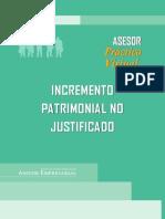 eBook Incremento Patrimonial No Justificado - Act Contable