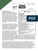 Senator Krueger's Community Bulletin - April 2017