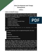 Organization Development and Change Management(odcm