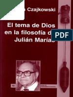 El tema de Dios en la filosofía de Julián Marías