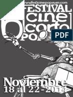 Catalogo Festival de Cine Corto de Popayán 2014
