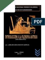 Guia Didactica de Introduccion a La Filosofia