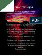 47 - Al Cerrar Mis Ojos [Jose Santos]