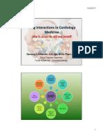 Drug Interaction in Cardiovascular_Bambang SZ