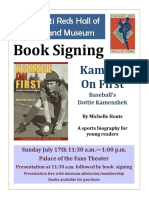 book signing kammie on first