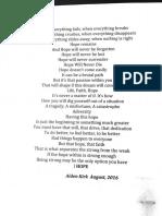 Poems by Kirk Boys
