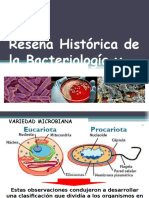 Bacteriologia Clase 1 - Historia,Generalidades,Definicion,Importancia