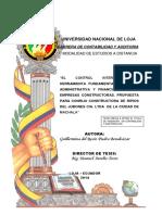 Tesis Universidad de Loja
